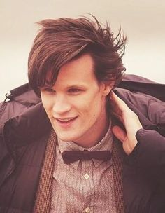 Matt Smith, after I got sorta used to Tennant being gone, I've come to love him.. ❤