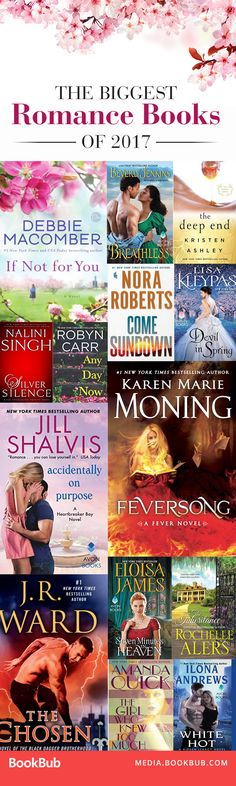 The biggest romantic books to read this year. Keep an eye out for these releases!