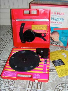 Chad Valley Record Player