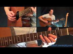 The Beatles - Norwegian Wood Guitar Lesson - Acoustic - YouTube
