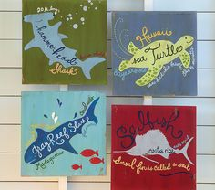 Pretty sure I could replicate something similar to this... pottery barn boy surf nursery decor -