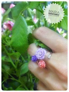 Rose rings... http://mariapapastamou.blogspot.gr/2017/06/blog-post.html?m=1