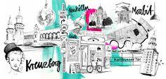 Berlin Mood Map on Behance