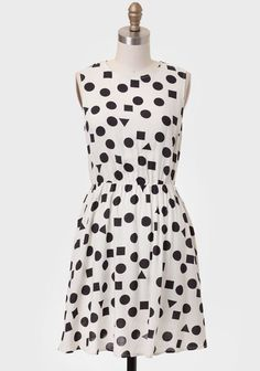 Out To Lunch Geometric Print Dress at #Ruche @Ruche