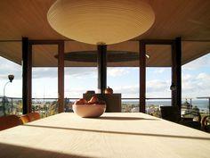 elmar ludescher architekt constructs haus am felsen over a valley in bregenz
