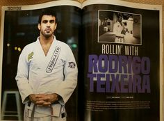 Professor Rodrigo Teixeira featured in The Jiu Jitsu Magazine - www.bjjindia.in