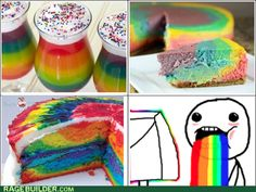 am i the only one who likes rainbow things?