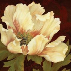Shop for framed Il Ballo Maronne II - mini by Pamela Gladding. Art Floral, Watercolor Flowers, Watercolor Paintings, Art Encadrée, China Painting, Pictures To Paint, Acrylic Art, Botanical Art, Framed Art Prints