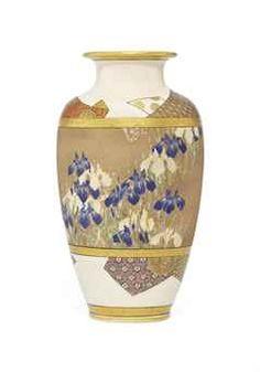 A Fine Satsuma Vase Christies £12500