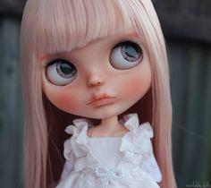 Peony - OOAK Custom Art Blythe Doll by Rainfable Dolls (2017) by Rainfable on Etsy https://www.etsy.com/listing/503617526/peony-ooak-custom-art-blythe-doll-by