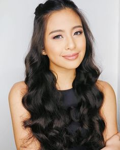 How to Achieve Long, Luscious Hair According to Gabbi Garcia's Stylist - Star Style PH Beautiful Long Hair, Gorgeous Hair, Gabbi Garcia, Warrior Outfit, Filipina Beauty, Luscious Hair, Dry Shampoo, Beautiful Celebrities