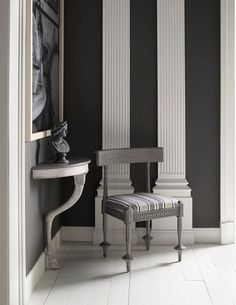 Neoclassical in grayscale