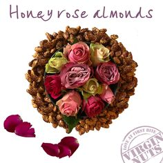 Botanical flavours @ Virgin Nuts With our Honey rose almonds we give you a sneak preview of a happy season full of light and fresh botanical flavours. Like roses in multiple colours. Beautiful to look at, wonderful the scent and also very nice to taste. To make #highquality #uniqueproducts for you, we look just a little bit further than the average flavours. Cooperating with our customers, we create exceptional nut-flavour combinations. Contact us for more information and inspiration.