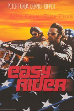 A great Easy Rider poster! The classic movie about the freedom of the Open Road and the dark underbelly of the times. Live Free, Ride Free! Ships fast. 24x36 inches. Check out the rest of our excellen