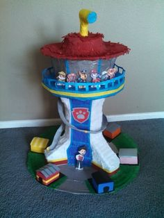 PICK UP ONLY Paw Patrol  Lookout Pinata