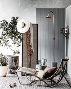 This space has me weak at the knees… stunning styling by @ashleypratt with earthy Eadie tones for @houseandgarden Eadie