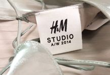 Sneak peek of the #HMStudioAW14 collection that will be revealed at H&M's fashion show in Paris on February 26! #PFW
