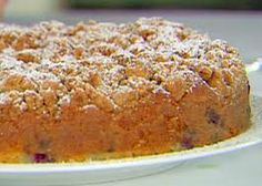 blueberry crumb cake  - by Ida