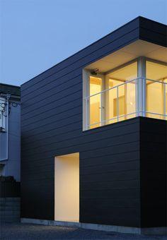 Fachada: Casa en Ichijoji - Tadahiro Shimada #arquitectura