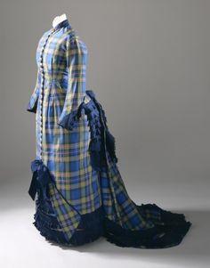 Day dress, 1876-1879; LACMA M.2000.178.16