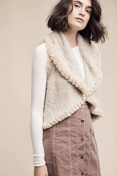 Eida Trimmed Vest  New arrival coats and jackets at anthropologie Fall 2016