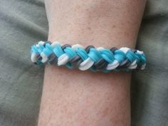 Brand new pattern!!! So unique! Brand New Pattern Double Braid Rainbow Loom by RainbowLoomLover, $5.00