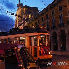 Electric Trams http://www.welovelisbon.net/activities/terreiro-do-paco #Lisbon #Travel #Portugal