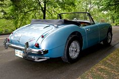 1965 Austin Healey BJ8, my hubby had a 1968 Sprite.  We loved it!