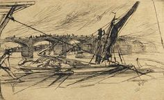 James McNeill Whistler - Vauxhall Bridge (Kennedy...
