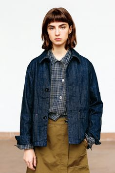 how to make clothes Minimal Fashion, Dope Fashion, Denim Fashion, Retro Fashion, Fashion Outfits, Margaret Howell, How To Make Clothes, Everyday Fashion, Blue Jeans