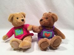 Kiss Kiss Bears Two Kissing Bears Made by Hallmark Cards New with Tags #Hallmark #AllOccasion