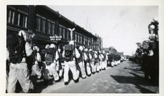 Operation Eskimo Military parade 1944 | saskhistoryonline.ca