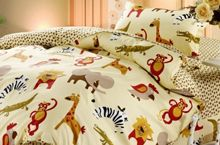 3 Pieces bedding set, great forest print for kids. Cotton Sheets, Kids Prints, Egyptian Cotton, 3 Piece, Comforters, Bedding, Blanket, Home, Creature Comforts