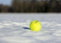 Balle sur la neige
