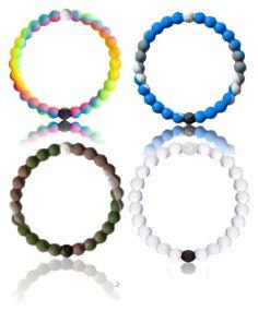 """""""Lokai Bracelets"""" by magriatrix ❤ liked on Polyvore"""