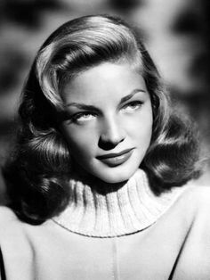 Lauren Bacall (Late do know how to whistle? Just put your lips together and blow. Hollywood Icons, Vintage Hollywood, Hollywood Glamour, Hollywood Stars, Classic Hollywood, Hollywood Actresses, Humphrey Bogart, Bogart And Bacall, Lauren Bacall