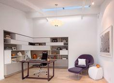 Office spacieux et bien agencé chez soi