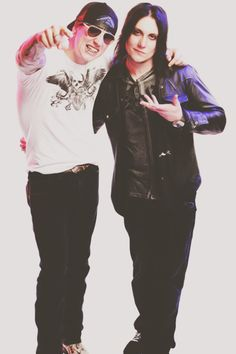 M Shadows and Syn