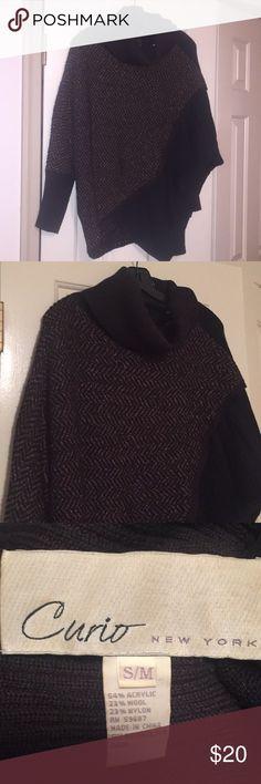 Curio New York Turtle Neck Sweater Curio New York Turtle Neck Sweater - S/M Curio New York Sweaters Cowl & Turtlenecks