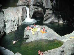 The best swimming holes are at Sooke Potholes Provincial Park, Vancouver Island, British Columbia, Canada Oh The Places You'll Go, Places To Travel, Places To Visit, Best Swimming, Swimming Holes, Rocky Mountains, Alaska, Canadian Travel, Retro Camping