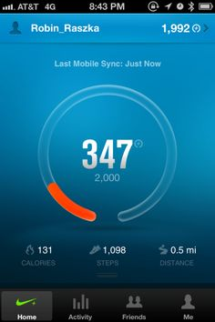 Nike FuelBand / Health and Fitness 01