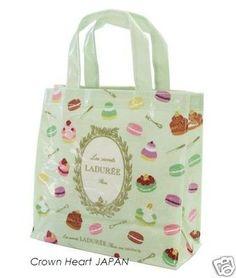 New LADUREE Paris Rare Tote Bag Cake Macaron Green by MARK'S JAPAN LTD Rare!