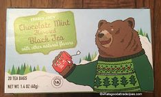 Finally, begrudgingly, reluctantly, and much to my chagrin, the heat is on my house for the fall/winter. Mint Tea, Trader Joes, Mint Chocolate, Yummy Treats, Whole Food Recipes, Winnie The Pooh, Fall Winter, Beverages, Costco