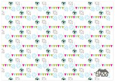 free printable wrapping paper for size A4 but usable for A3 too.