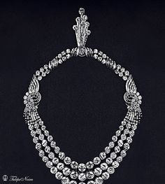 H.M. Queen Farida's Diamond-Necklace From Boucheron House by Tulipe Noire, via Flickr.
