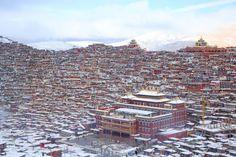 Photo de l'Est du Tibet