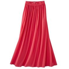 Merona® Womens Pink Maxi Skirt.    Just bought this online. So excited!