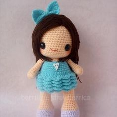 Bella amigurumi crochet pattern by Berriiiz