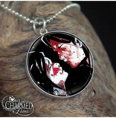 Genuine Sterling Silver My Chemical Romance Kiss Pendant/Charm