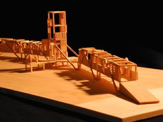 puente de ingreso al parque nac. manuel antonio quepos, 2001 Diseño Arquitectónico: Luis Diego Barahona Maqueta: Jorge Cisneros Dibujo: Taller ldb arquitectura Fotografías de maqueta: Oscar Abarca